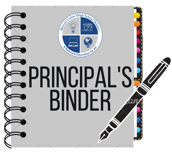 Link: Principal's Binder of important files for administrators