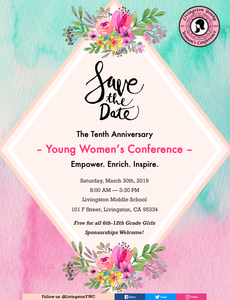 Flyer- Young's Women's Conference