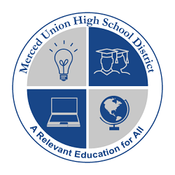 Background image: MUHSD Logo with motto A Relevant Education for All