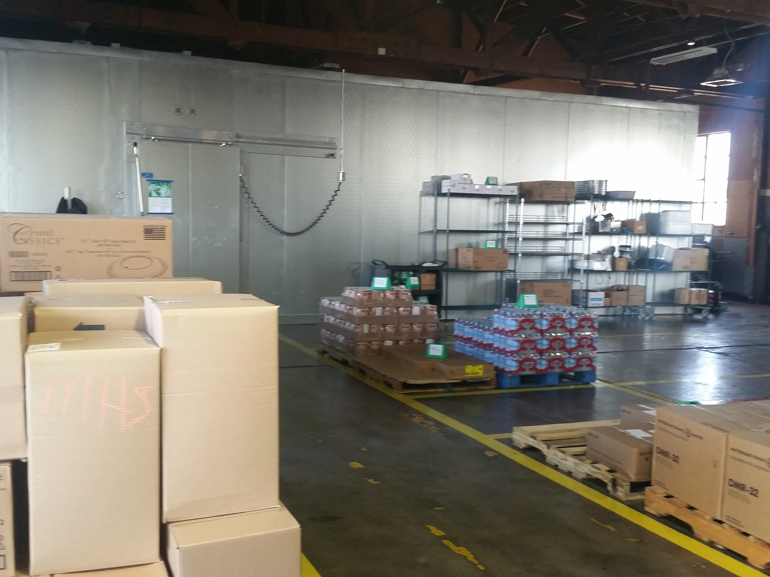 Image: Warehouse storage items