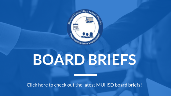 Board Briefs: Check out the latest MUHSD board briefs